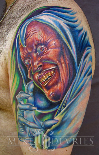Tattoos - Hobgoblin Tattoo - 13768